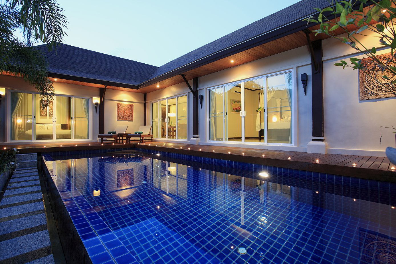 3 bedroom modern asian style villa in Rawai