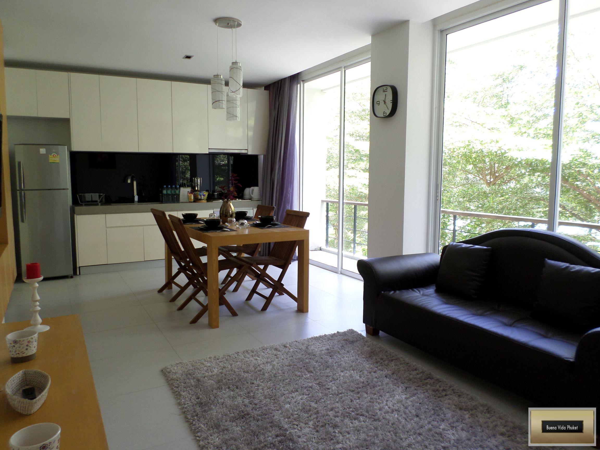 2 Bedroom Zen Style Apartment Inside Pool Complex Kamala