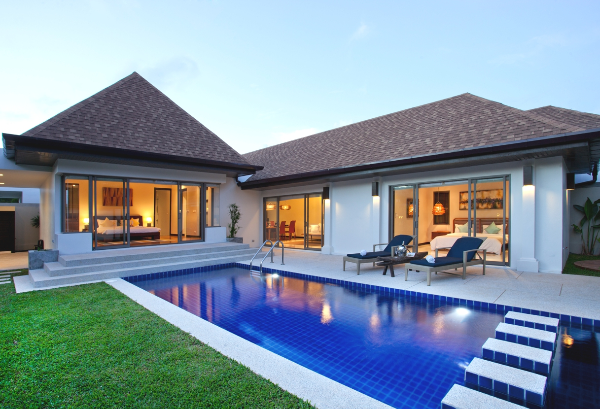 3 bedroom modern tropical Nai Harn villa