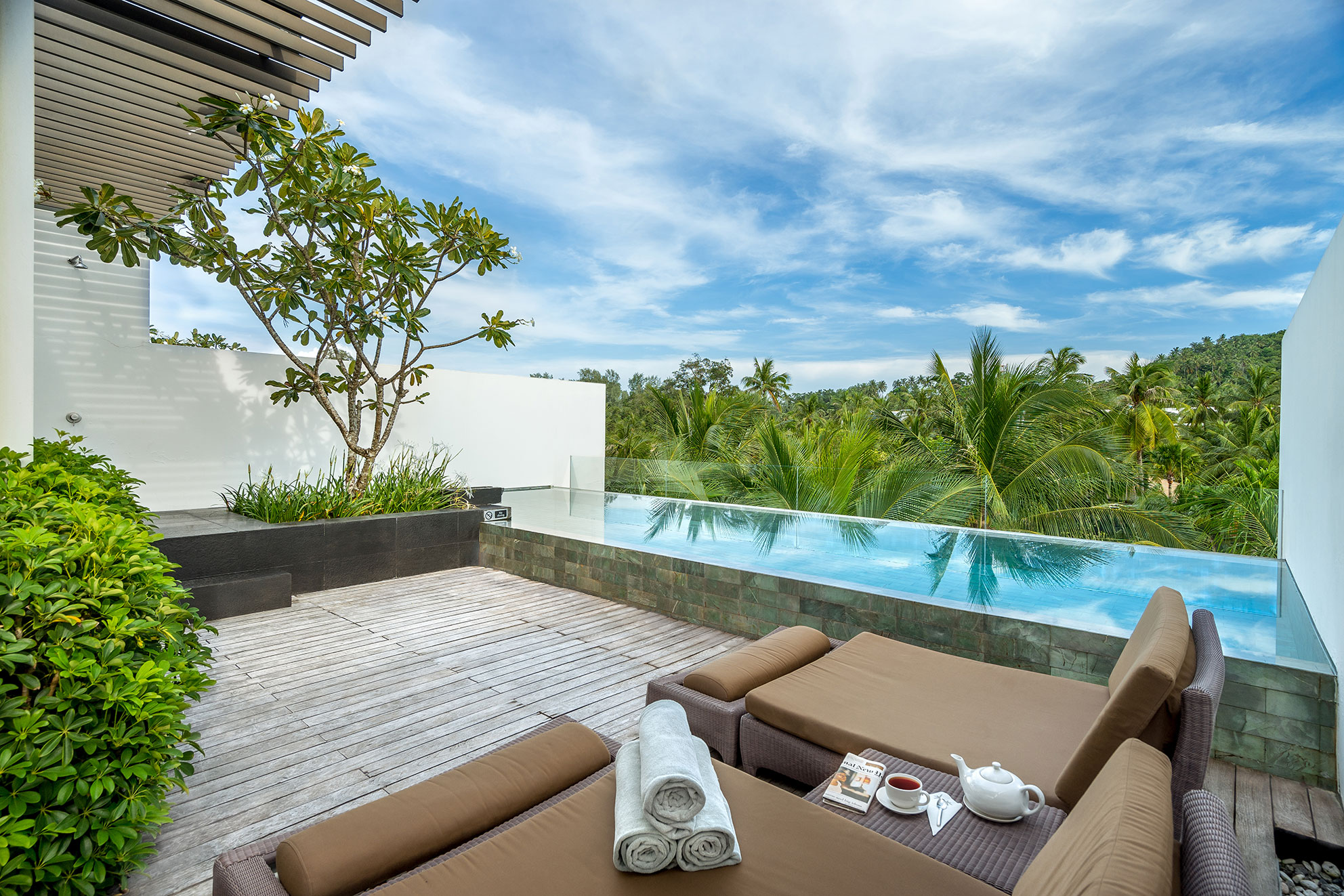 Palms Place 2 Bedroom Suite 1 Bedroom Penthouse With Private Pool In Surin Beach
