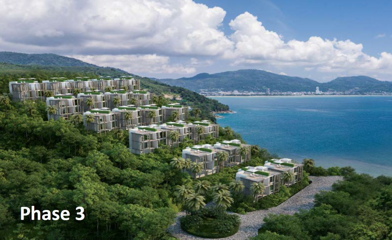 1 bedroom Sea view Condominium in Kalim Patong